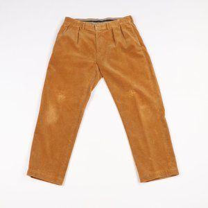 Vintage Ralph Lauren Pleated Corduroy Pants Brown